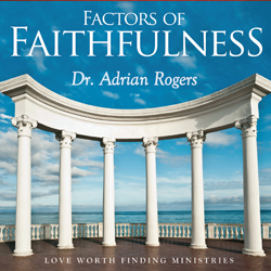 JULY SERIES: Factors of Faithfulness CD album (CDA200)