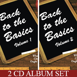 January Series: Back To The Basics 2 CD album package (P3738ACD)
